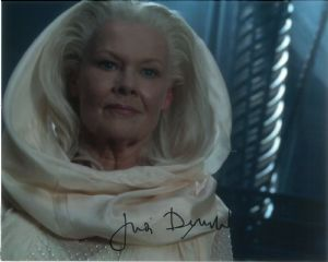 Judi Dench   THE CHRONICLES OF RIDDICK  Genuine Signed Autograph 10 x 8 10753